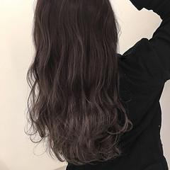 グレー アッシュ ストリート 冬 ヘアスタイルや髪型の写真・画像