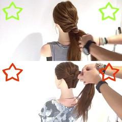 色気 フェミニン ヘアアレンジ ロング ヘアスタイルや髪型の写真・画像