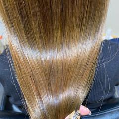 ナチュラル 髪質改善トリートメント ロング 髪質改善カラー ヘアスタイルや髪型の写真・画像