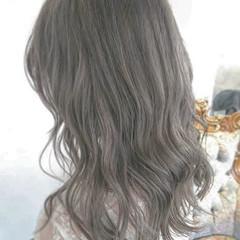 ストリート 簡単ヘアアレンジ ブリーチ セミロング ヘアスタイルや髪型の写真・画像
