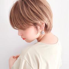 ショートヘア ミニボブ 小顔ショート ショート ヘアスタイルや髪型の写真・画像