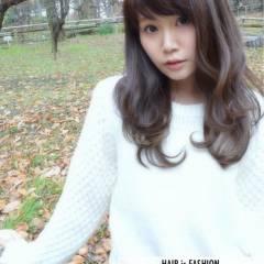 ゆるふわ モテ髪 ガーリー フェミニン ヘアスタイルや髪型の写真・画像