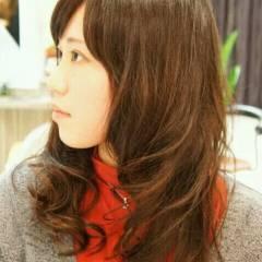 愛され セミロング モテ髪 フェミニン ヘアスタイルや髪型の写真・画像