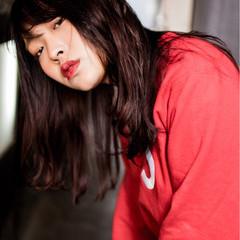 ピンク ストリート 外国人風カラー 透明感 ヘアスタイルや髪型の写真・画像