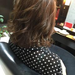 外国人風 パーマ ゆるふわ グラデーションカラー ヘアスタイルや髪型の写真・画像