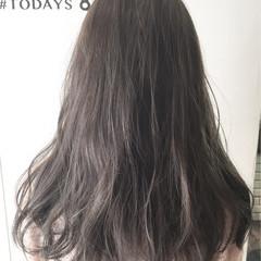 外国人風 アッシュ ハイライト オリーブアッシュ ヘアスタイルや髪型の写真・画像