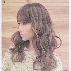 外国人風 ミディアム 冬 ストリート ヘアスタイルや髪型の写真・画像