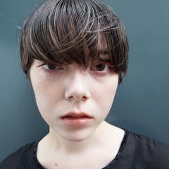 ショートボブ 抜け感 マッシュ ナチュラル ヘアスタイルや髪型の写真・画像