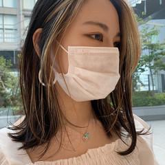ストリート ハイライト ミディアム 阿藤俊也 ヘアスタイルや髪型の写真・画像