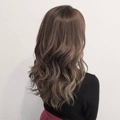 ゆるふわ 女子力 デート ウェーブ ヘアスタイルや髪型の写真・画像
