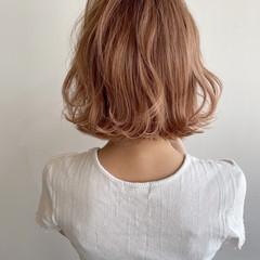 ボブヘアー ボブ ミニボブ フェミニン ヘアスタイルや髪型の写真・画像