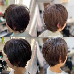 ショートボブ ショートヘア モード ベリーショート ヘアスタイルや髪型の写真・画像