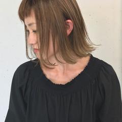 大人かわいい リラックス グラデーションカラー 透明感 ヘアスタイルや髪型の写真・画像