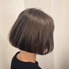 デート ワンレングス 前下がり ガーリー ヘアスタイルや髪型の写真・画像