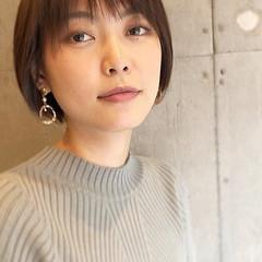 ショートヘア ヘアスタイル 東京ヘアスタイル ショート ヘアスタイルや髪型の写真・画像