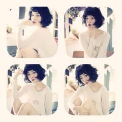 大人女子 ミディアム 外国人風 ストリート ヘアスタイルや髪型の写真・画像