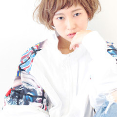 ジェンダーレス 外国人風 前髪あり パーマ ヘアスタイルや髪型の写真・画像