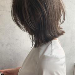 ナチュラルウルフ くびれカール くびれボブ ウルフカット ヘアスタイルや髪型の写真・画像