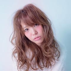 ニュアンス 小顔 大人女子 ガーリー ヘアスタイルや髪型の写真・画像