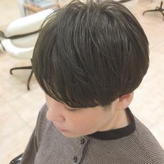 マッシュ アッシュ ツーブロック ショート ヘアスタイルや髪型の写真・画像