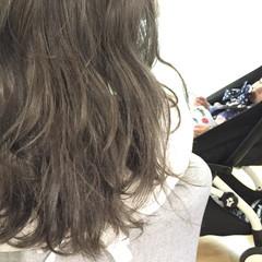 秋 透明感 ナチュラル リラックス ヘアスタイルや髪型の写真・画像