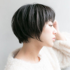 ワンカールパーマ パーマ 小顔 ナチュラル ヘアスタイルや髪型の写真・画像