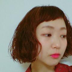 ボブ モード 色気 パーマ ヘアスタイルや髪型の写真・画像
