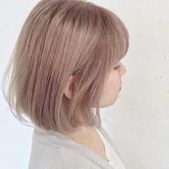 ストリート ホワイト ハイトーン ピュア ヘアスタイルや髪型の写真・画像