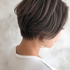 ショートヘア ショートボブ ベリーショート エレガント ヘアスタイルや髪型の写真・画像