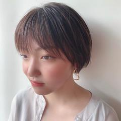ショート ショートボブ 小顔ショート 大人かわいい ヘアスタイルや髪型の写真・画像