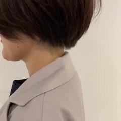 簡単スタイリング モード 大人可愛い 透明感カラー ヘアスタイルや髪型の写真・画像