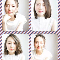 ヘアアレンジ 暗髪 ピュア 大人かわいい ヘアスタイルや髪型の写真・画像