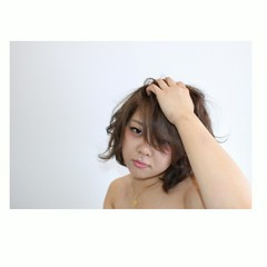 愛され 外国人風 ボブ ナチュラル ヘアスタイルや髪型の写真・画像