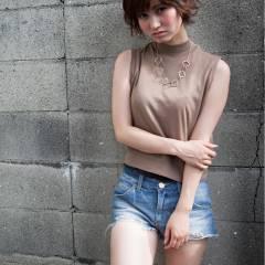 ストリート 大人かわいい フェミニン 似合わせ ヘアスタイルや髪型の写真・画像