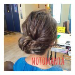 大人かわいい グラデーションカラー ナチュラル ルーズ ヘアスタイルや髪型の写真・画像