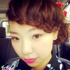 コンサバ フェミニン モテ髪 夏 ヘアスタイルや髪型の写真・画像