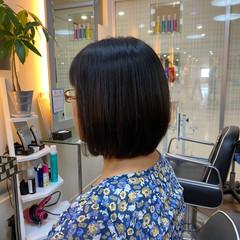 ナチュラル サラサラ ストレート 艶髪 ヘアスタイルや髪型の写真・画像