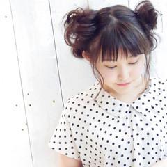 フェミニン 夏 エフォートレス デート ヘアスタイルや髪型の写真・画像