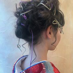 ゆるふわ 簡単ヘアアレンジ デート フェミニン ヘアスタイルや髪型の写真・画像