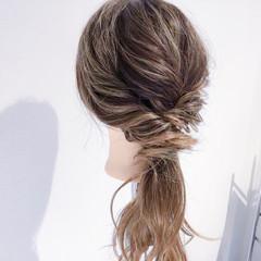 ヘアアレンジ ロング 簡単ヘアアレンジ 女子会 ヘアスタイルや髪型の写真・画像