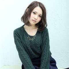コンサバ モテ髪 大人かわいい 外国人風カラー ヘアスタイルや髪型の写真・画像