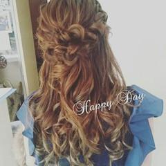 結婚式 大人かわいい ゆるふわ ヘアアレンジ ヘアスタイルや髪型の写真・画像