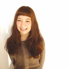 フェミニン ゆるふわ ガーリー ロング ヘアスタイルや髪型の写真・画像