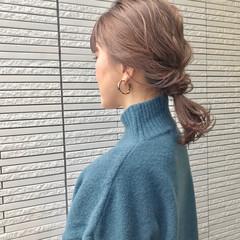 福岡市 ヘアカラー 大人女子 ヘアアレンジ ヘアスタイルや髪型の写真・画像