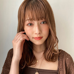 ミディアムレイヤー ミディアム レイヤースタイル レイヤーカット ヘアスタイルや髪型の写真・画像
