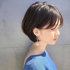 デート ヘアアレンジ ゆるふわ ショート ヘアスタイルや髪型の写真・画像