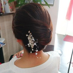 和装ヘア エレガント 和装髪型 和装 ヘアスタイルや髪型の写真・画像