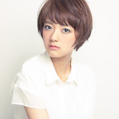 似合わせ 小顔 爽やか ナチュラル ヘアスタイルや髪型の写真・画像