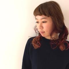 ストリート 個性的 ベージュ アッシュベージュ ヘアスタイルや髪型の写真・画像