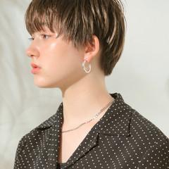 ショートマッシュ ショート ショートヘア マッシュ ヘアスタイルや髪型の写真・画像